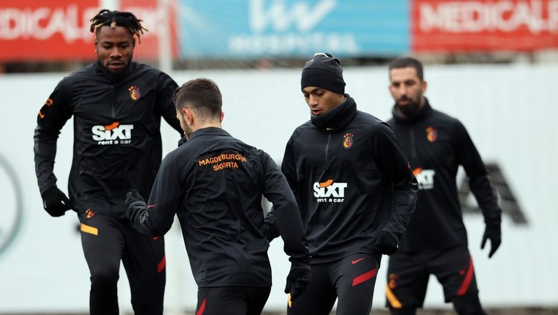 Galatasaray, MKE Ankaragücü maçı hazırlıklarını sürdürdü