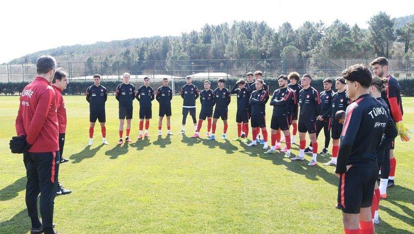 19 Yaş Altı Milli Futbol Takımı'nın hazırlık kampı başladı