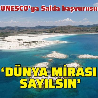 Salda Gölü için UNESCO başvurusu! 'Dünya mirası sayılsın'