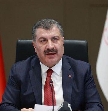 Son dakika... Sağlık Bakanı Fahrettin Koca, illere göre 7 günlük her 100 bin kişide görülen yeni tip koronavirüs (Kovid-19) güncel vaka sayılarını açıkladı.