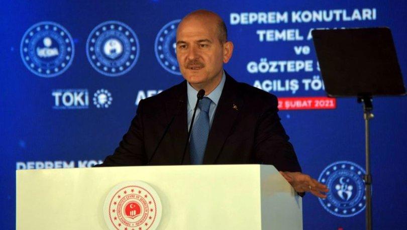 İçişleri Bakanı Soylu'dan SON DAKİKA