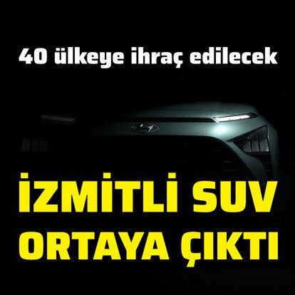 İzmit'te üretilecek SUV ortaya çıktı!