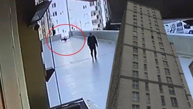 Elinde telefonla 12. kattan yere düştü