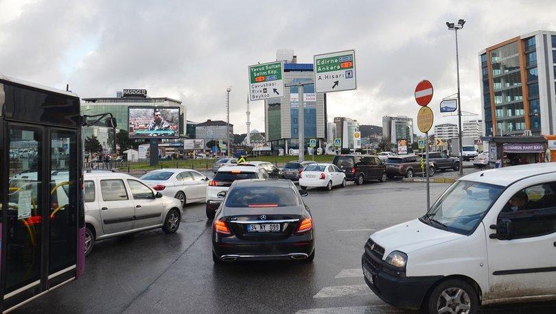 FELÇ| Son dakika: İstanbul'da trafik felç oldu! - İBB Trafik haritası