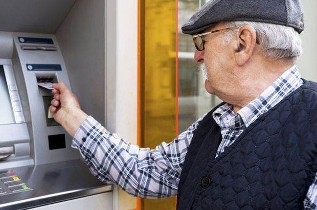 Emekli maaşları ödeniyor!