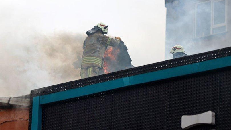 Son dakika: Ataşehir'de aynı fabrikada 24 saatte ikinci yangın!