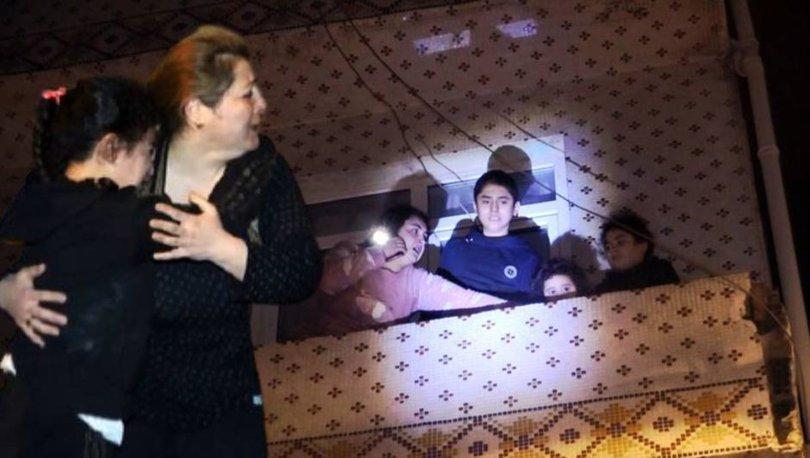 Balkonda dehşeti yaşadılar! SON DAKİKA: Bursa'da korku dolu anlar