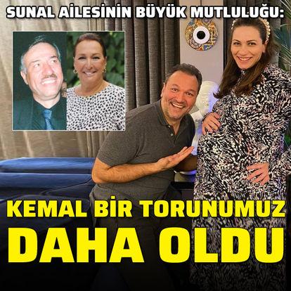 """""""Kemal bir kız torunumuz daha oldu"""""""