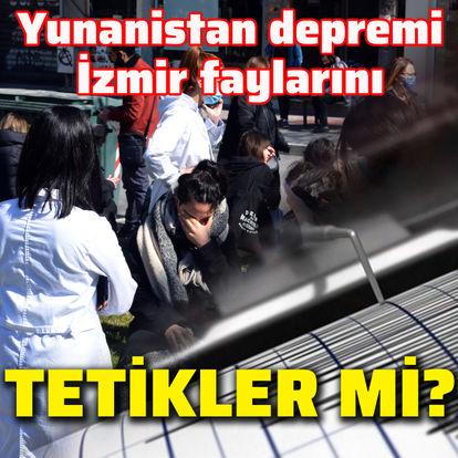 Yunanistan depremi İzmir faylarını tetikler mi?
