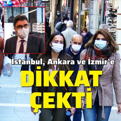 İstanbul, Ankara ve İzmir'e dikkat çekti!