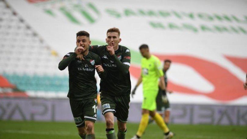 Bursaspor son anlarda nefes aldı