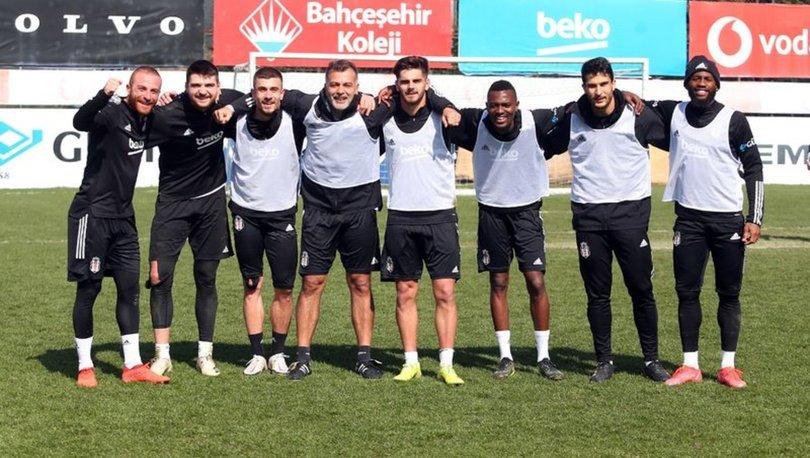 Beşiktaş, Gaziantep maçı hazırlıklarına başladı