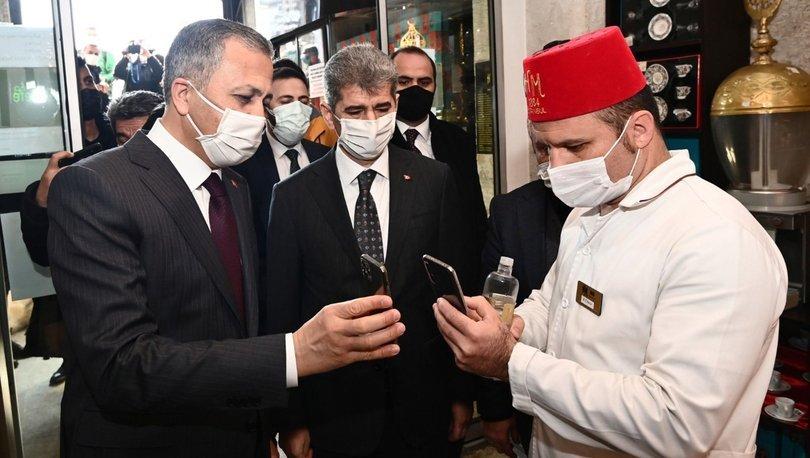 İstanbul Valisi Ali Yerlikaya paylaştı: HES kodumu sordular, öyle içeri aldılar
