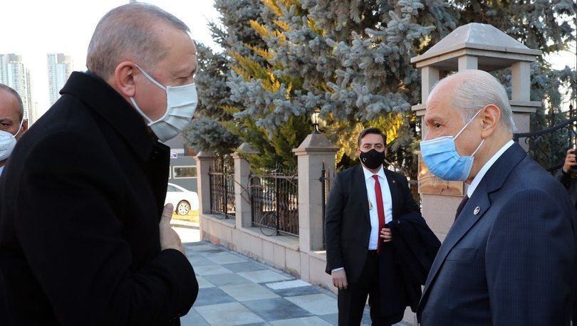 Son dakika haberi Cumhurbaşkanı Erdoğan, Bahçeli'yi ziyaret etti