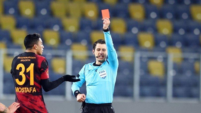Galatasaray, Mustafa Muhammed'in kırmızı kartının iptali için başvurdu