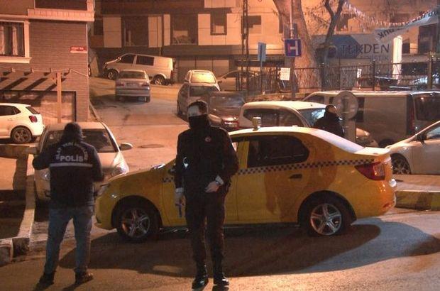 Taksiciye silah dayayıp denetimden kaçtılar