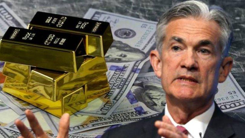 SON DAKİKA! Altın fiyatları çakıldı, dolar artıyor! Piyasalara Powell şoku - Haberler