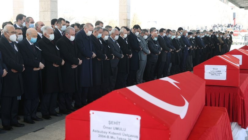 CANLI |Şehitlere son görev! Son dakika! Cumhurbaşkanı Erdoğan'dan açıklamalar