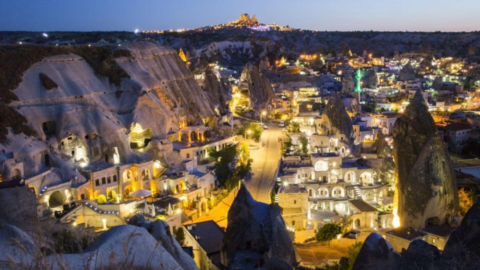 En romantik yer Kapadokya