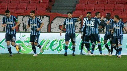 Adana Demirspor 2 attı 3 aldı