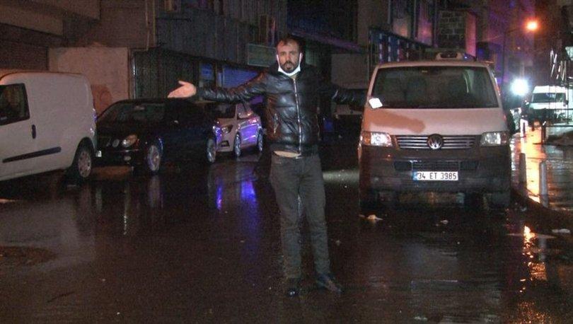 İstanbul'un orta yerinde dükkan taradılar! Son dakika: Kağıthane'de silahlı saldırı