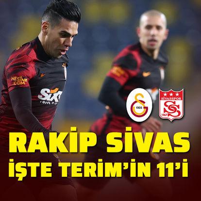 Rakip Sivas! Terim'in 11'i...