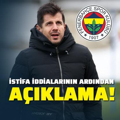Fenerbahçe'den Emre açıklaması!