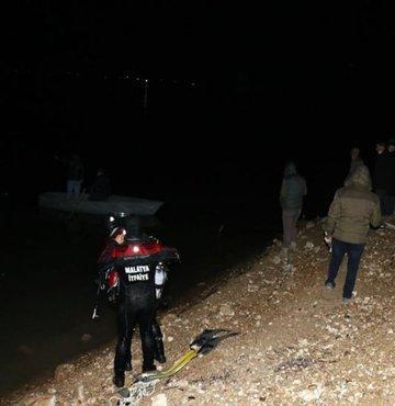 Malatya'da barajda tekne alabora oldu: 1 kayıp