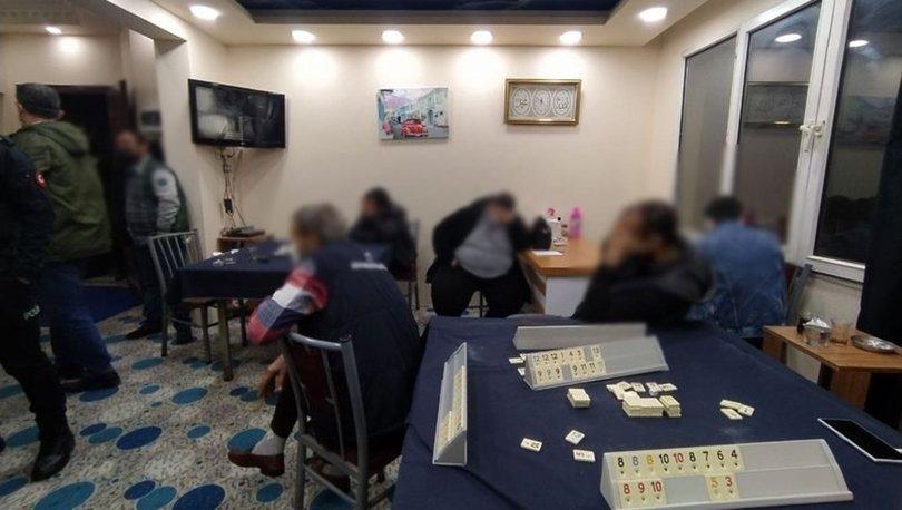 Adana'da güvenlik kameralı kumarhaneye baskın: 30 kişiye ceza