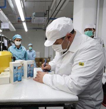 Oppo Tuzla'da test üretimine başladı