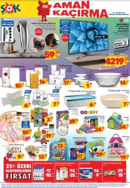 9 Mart 2021 ŞOK Aktüel Ürünler Kataloğu: Bu hafta ŞOK market indirimli ürünler listesinde neler var?