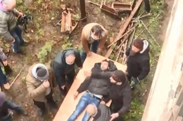 Gürcistan'da din adamları ile cemaat birbirine girdi!