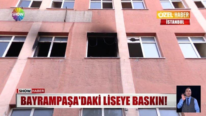 İstanbul Bayrampaşa'da boşaltılan okul uyuşturucu müptelaları ve hırsızların sığınağı oldu