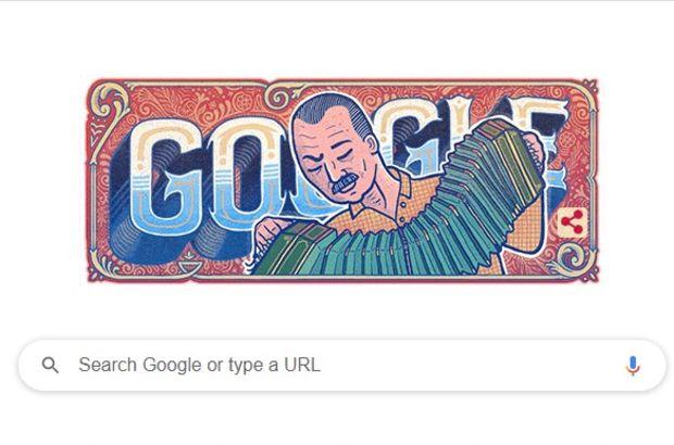 Google'dan Astor Piazzolla'ya Doodle sürprizi