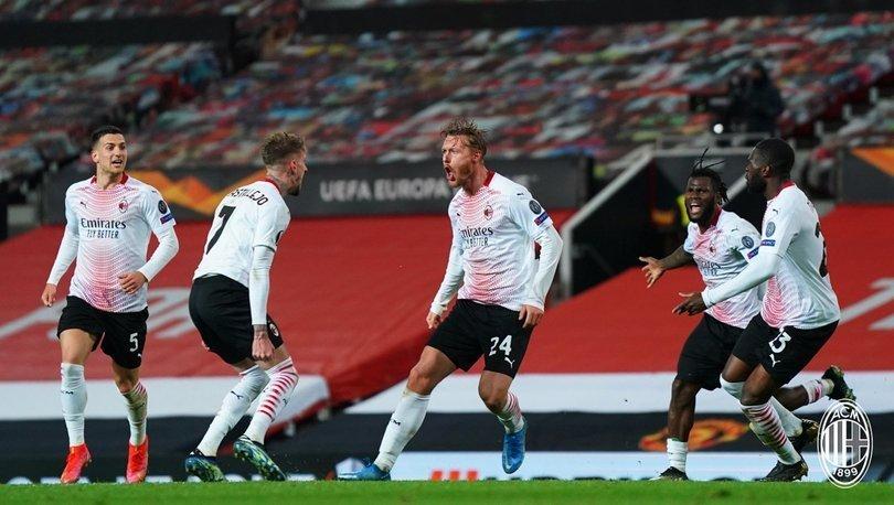 Manchester United, sahasında Milan ile yenişemedi