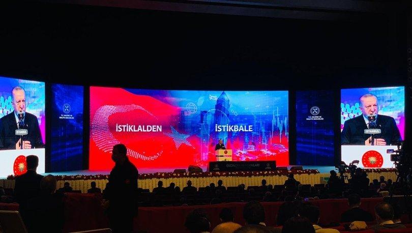 SON DAKİKA Cumhurbaşkanı Erdoğan Ekonomi reform paketini açıkladı: Vatandaşa 7/24...