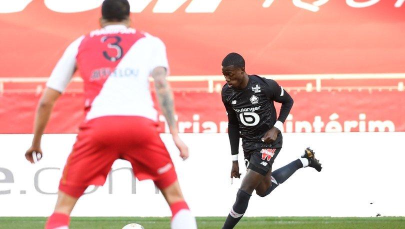 Lille, deplasmanda Monaco ile golsüz berabere kaldı