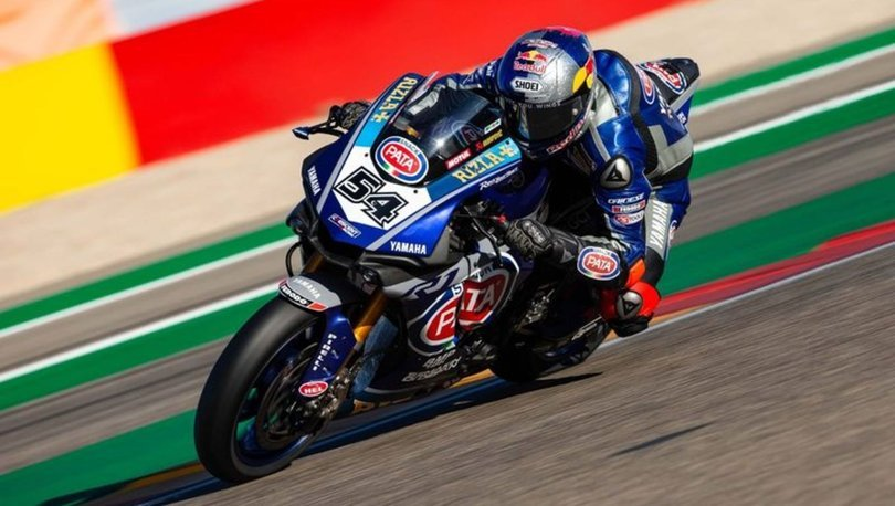 Milli motosikletçi Toprak Razgatlıoğlu, İtalya'daki resmi testte en iyi zamanı yaptı