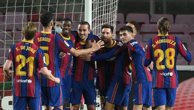 Barcelona: 4 - Huesca: 1 MAÇ SONUCU