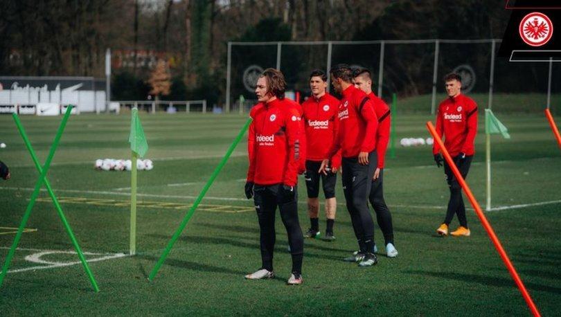 Ali Akman, Eintracht Frankfurt'ta ilk antrenmanına çıktı