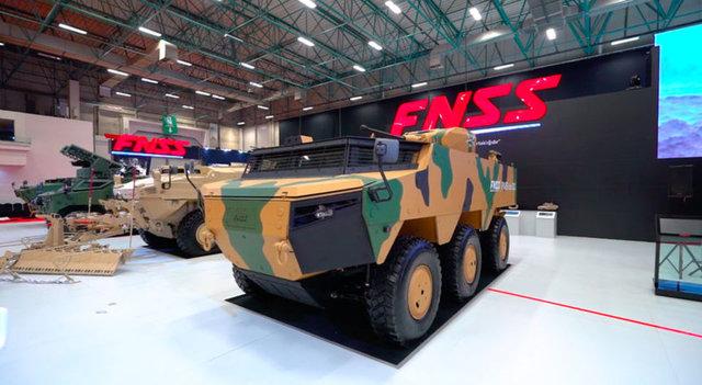 TSK ve jandarmanın yeni zırhlıları için seri üretim başlıyor