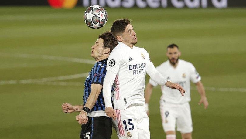 Real Madrid: 3 - Atalanta: 1   MAÇ SONUCU