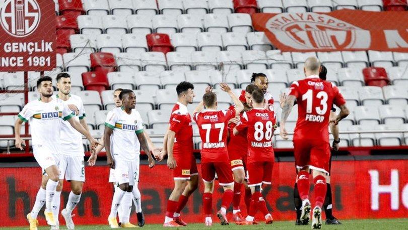 Antalyaspor: 2 - Alanyaspor: 0 MAÇ SONUCU