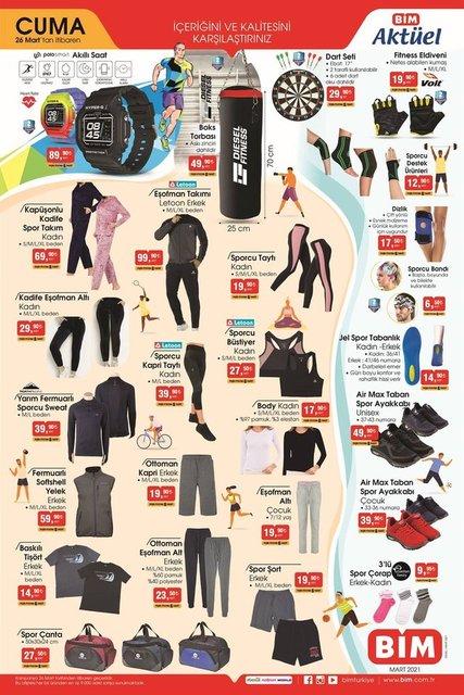 26 Mart BİM kataloğu satışa çıkıyor! BİM'de bu hafta ne var? BİM haftanın indirimli ürünler listesi
