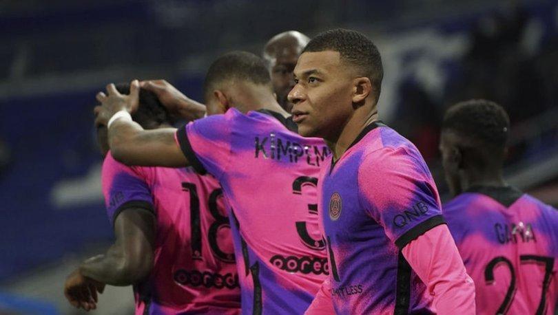 Ligue 1'de PSG, Olympique Lyon'u 4-2 yendi