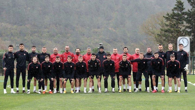 Ümit Milliler, Hırvatistan ve Sırbistan maçı hazırlıklarına başladı