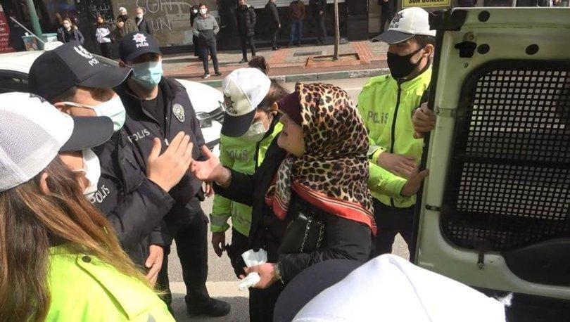 SON DAKİKA! Bankaya maskesiz alınmayan anne-kız ortalığı birbirine kattı - Haberler