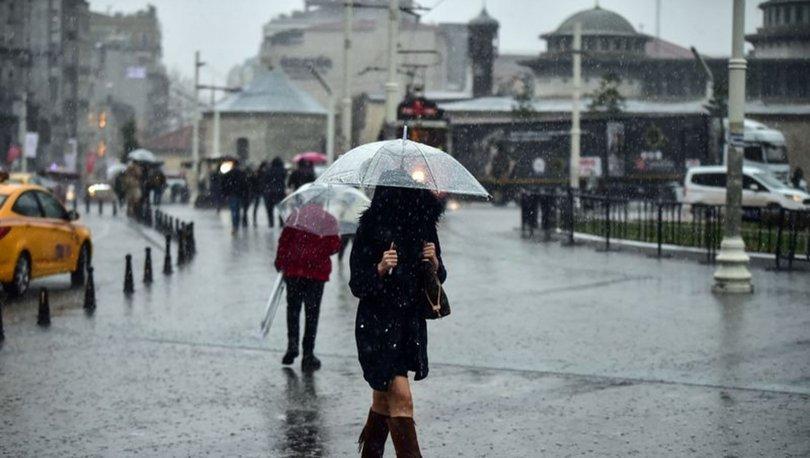 Meteoroloji'den İstanbul'a uyarı! Kar, dolu, yağmur... İstanbul 10 günlük  hava durumu | Gündem Haberleri