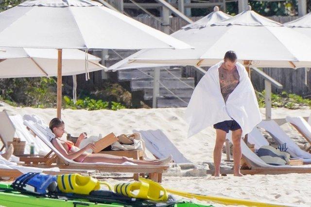 Justin Bieber-Hailey Baldwin çifti Karayipler'de - Magazin haberleri