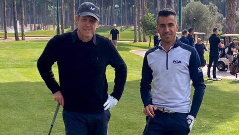Hugh Grant, Antalya'da golfte - Magazin haberleri